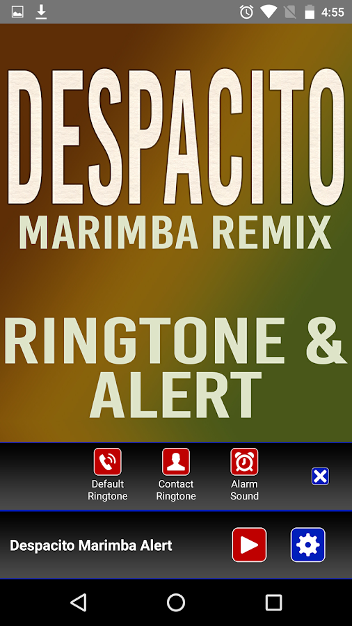 despacito marimba remix full ringtone download