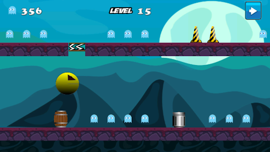 Crazy Pacman 1.0 screenshot 2