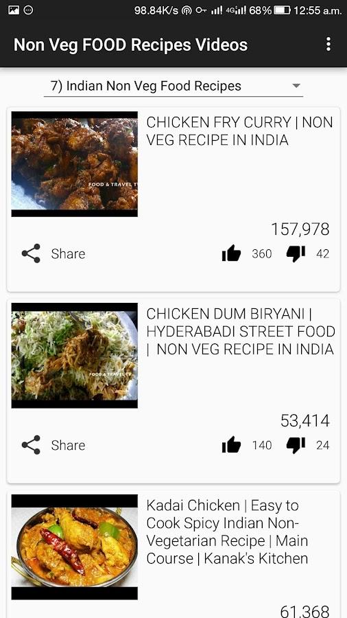 Cooking ALL Non Veg Food Recipes VIDEOs App 2 1 APK Download