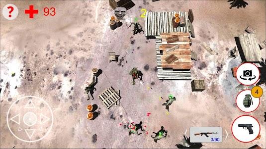 Shooting Zombies Free Game 1.0 screenshot 3