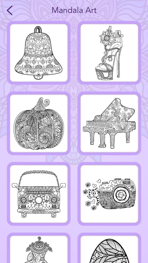 Mandala Coloring Book 292 Screenshot 7