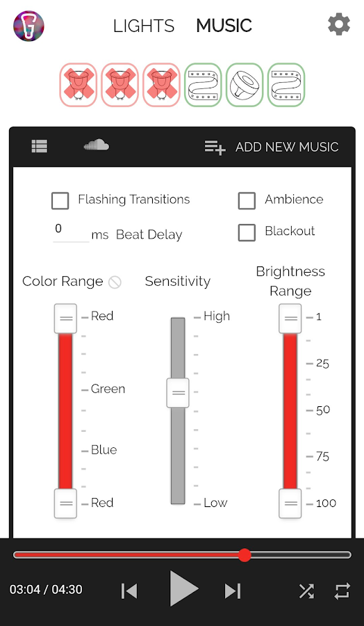 Huegasm for Hue Lights(no ads) 2 1 0 APK Download - Android Music