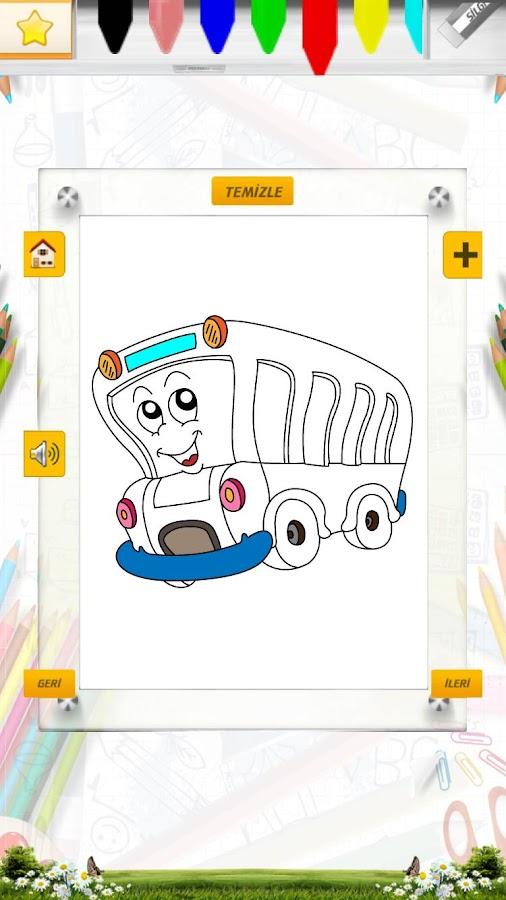 Araçlar Boyama Kitabı Oyunu 10 Apk Download Android Casual Games