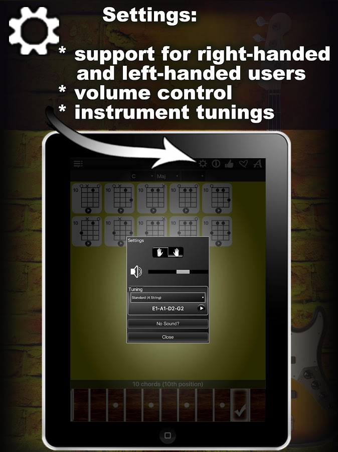 Bass Guitar Chords Compass 10 Apk Download Android Music Audio Apps