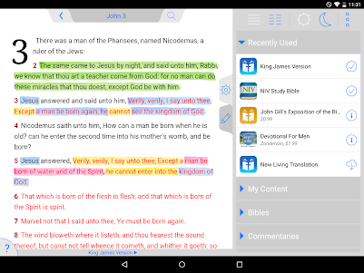 Holy Bible King James + Audio 7.12.4 screenshot 11