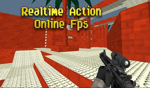 Pixel Combat Multiplayer HD 3.5 screenshot 4