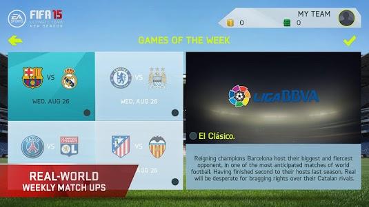 FIFA 15 Ultimate Team 1.7.0 screenshot 4