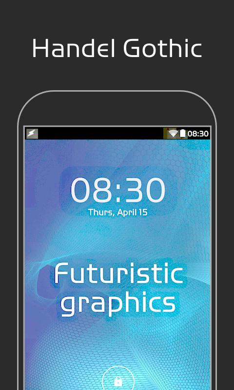 Handel Gothic FlipFont 2 2 APK Download - Android