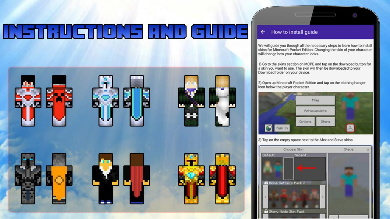 Skins capes for Minecraft 1 1 APK Download - Android Tools Apps