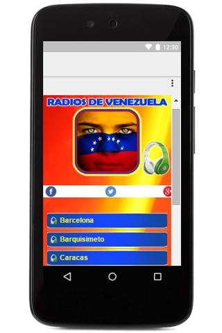 19f04aaa4c770 Radios de Venezuela en Vivo 1.05 APK Download - Android Music ...