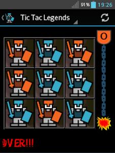 Tic Tac Legends 2.0 screenshot 2