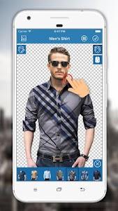 Man Shirt Photo Editor 3.0.9 screenshot 2