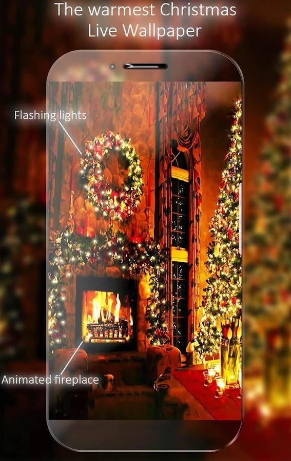 Christmas Fireplace Live Wallpaper 1 17 APK Download