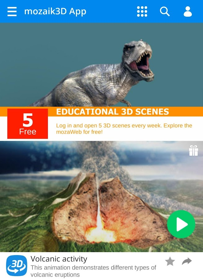 3d animation app for android free download