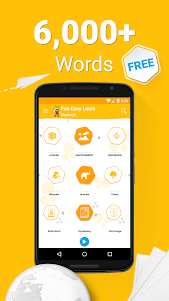 Learn German - 6000 Words - FunEasyLearn 5.8.2 screenshot 1