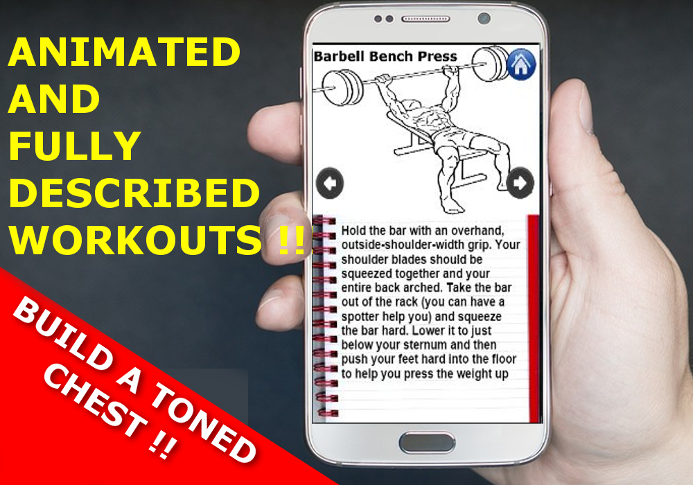 CHEST Workout For Men At Home And Gym Free 1 Screenshot 2