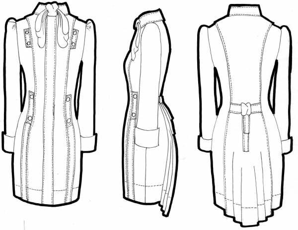 Fashion Design Flat Sketch New 1.0 APK Download - Android Lifestyle Apps