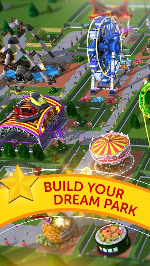 RollerCoaster Tycoon Touch - Build your Theme Park 2 9 0 APK