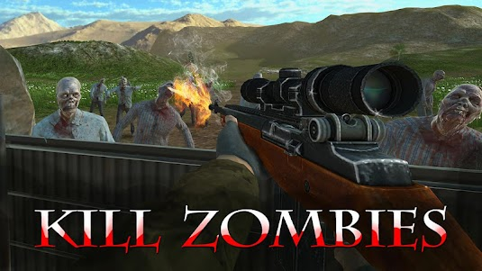 🧟Zombie Ops 3D shooter - sniper undead revenants 5.0.0 screenshot 1