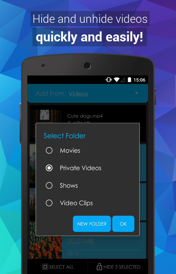 Video Locker Pro 2 1 0 APK Download - Android cats
