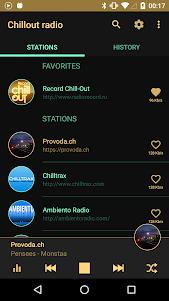 Chillout & Lounge music radio 4.3.7 screenshot 1