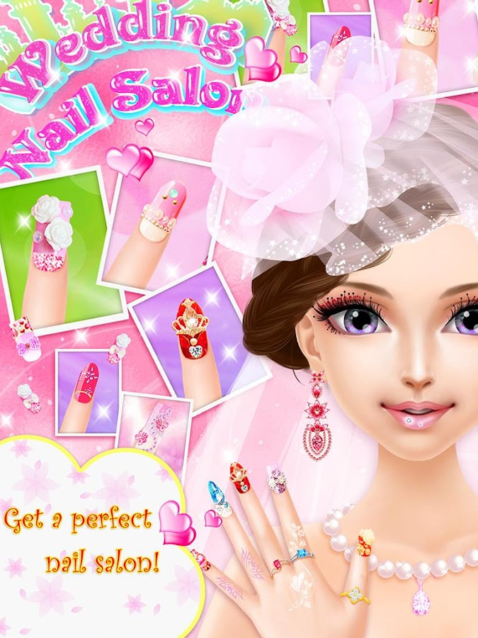 Wedding Nail Salon Girl Game 105 Apk Download Android Casual Games