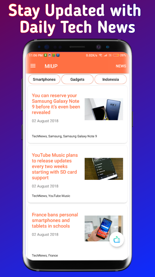 MIUP - Update MIUI 10 , MIUI Hidden Settings, News 4 0 APK Download