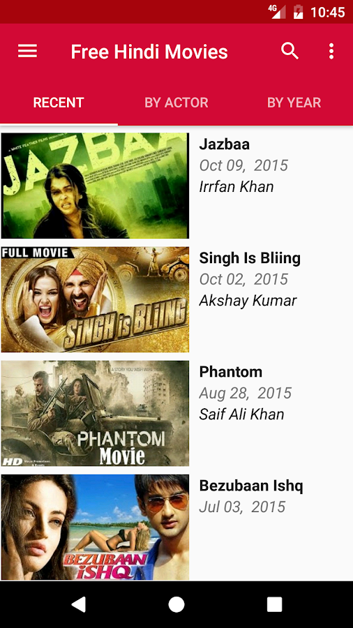 apps for free hindi movie download