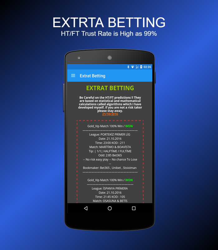 VIP Betting TIPS 4 5 1 APK Download - Android Sports Games