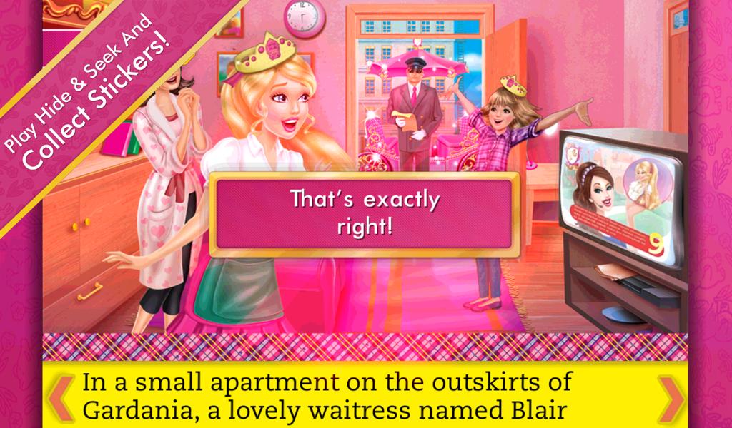 ... Barbie Princess Charm School 1.0 screenshot 11 ...