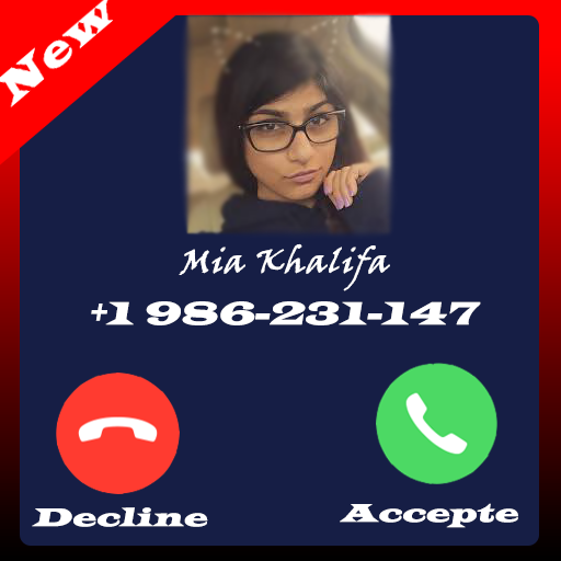 low priced f6919 a07e5 Call From Mia Khalifa 1.0 APK Download - Android Communication Apps