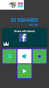 25 Squares - Tap Tap 1.0.2 screenshot 1