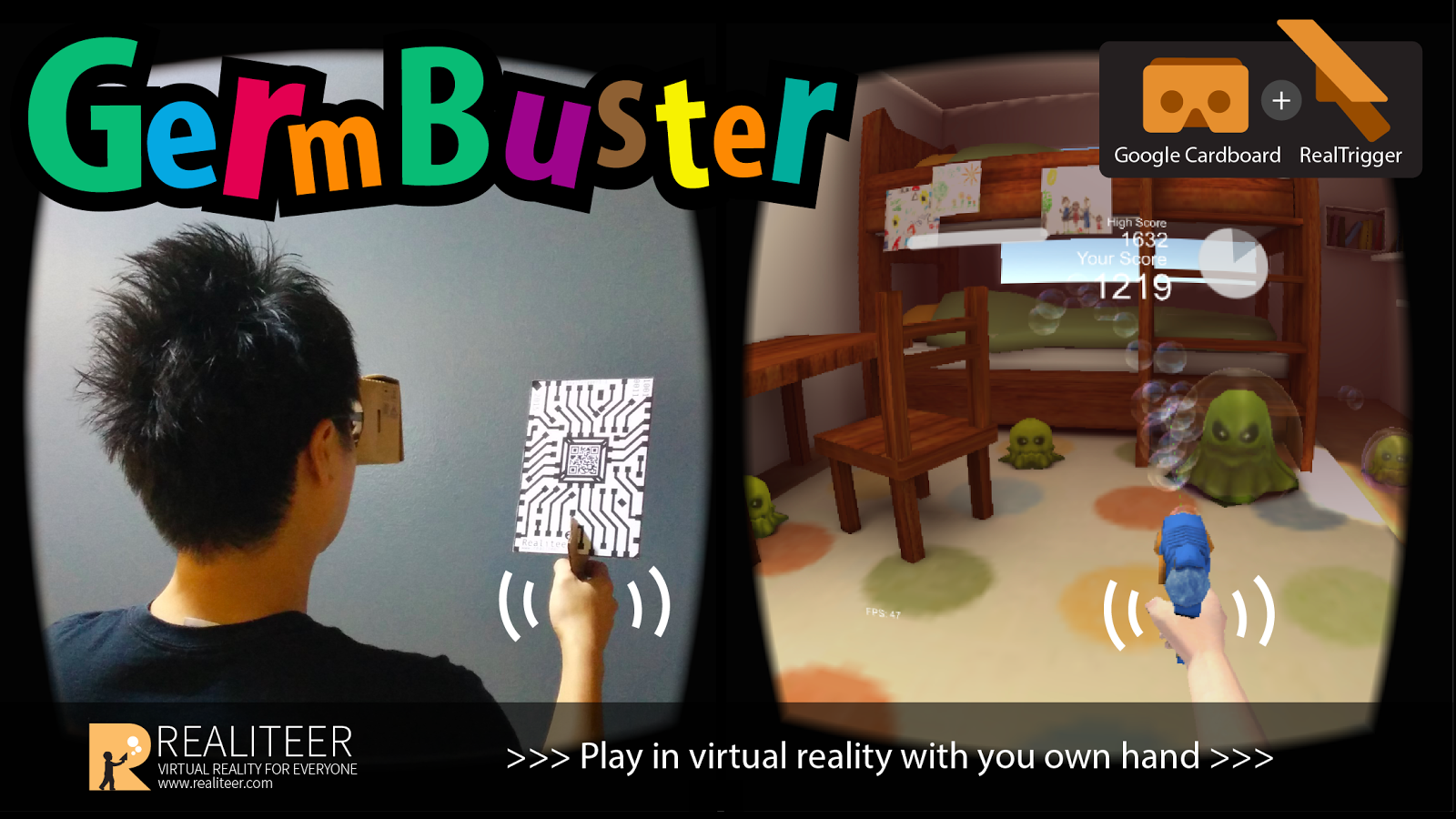 GermBuster VR 1 4 APK Download - Android Action Games