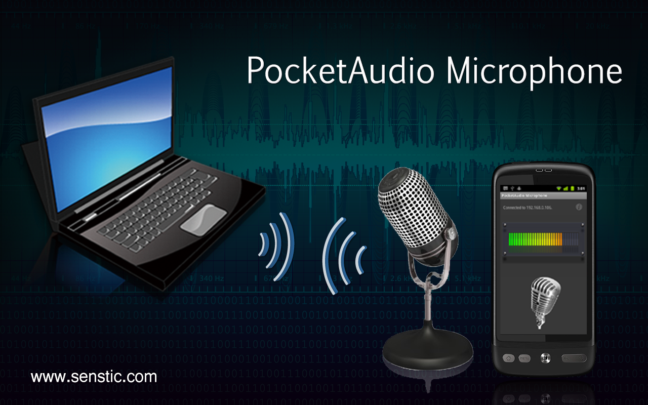 PocketAudio Microphone APK Download - Android Communication Apps