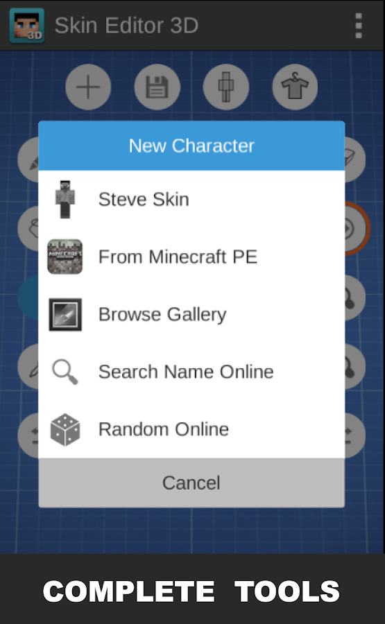 Skin Editor D For Minecraft APK Download Android Tools Apps - Skin para minecraft 1 8 browse