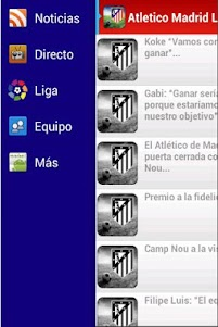 Atletico Madrid Liga Gol 2.3 screenshot 1