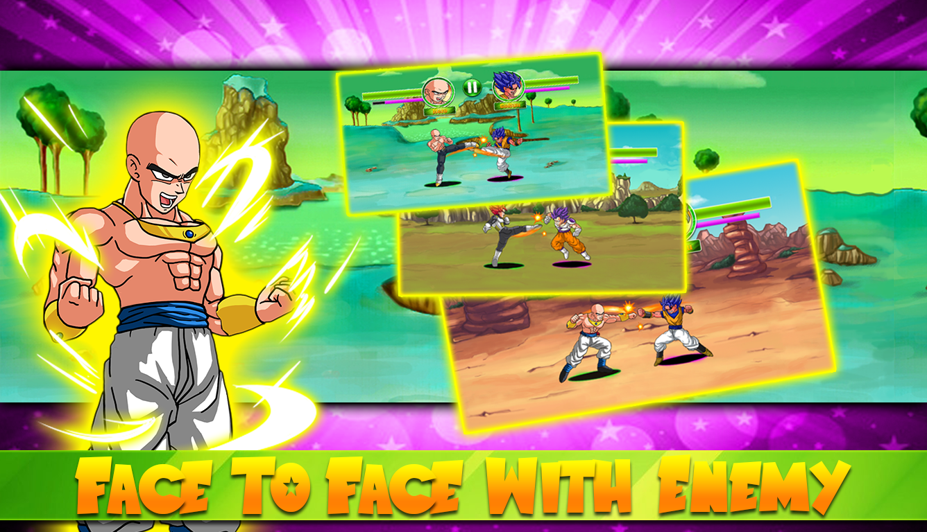 Create Dragon Z Saiyan Warrior 1 11 APK Download - Android