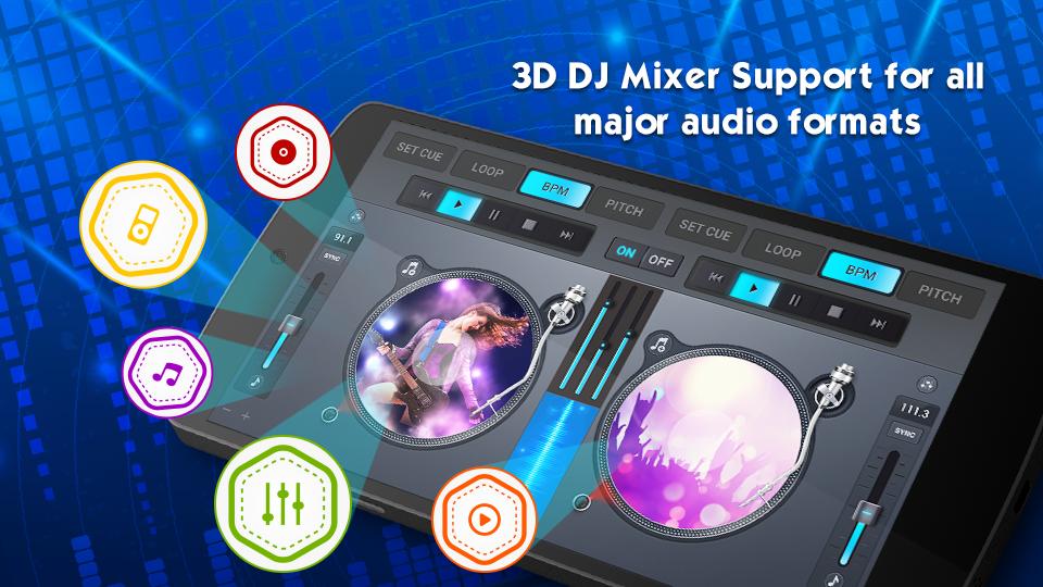 DJ Mixer 2019 - 3D DJ App 1 1 35 APK Download - Android