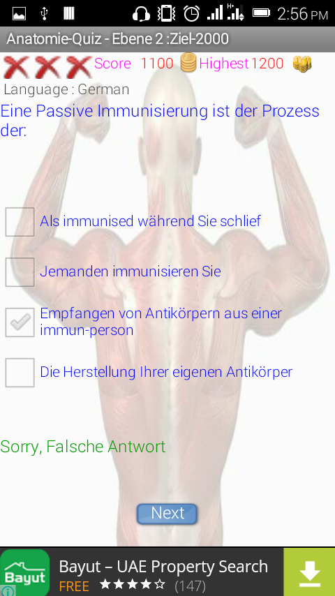 Human Anatomy Quiz Game 14 Apk Download Android Education Apps