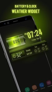 Weather Forecast Widget with Battery and Clock 15.1.0.45733_45904 screenshot 1