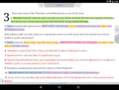 Holy Bible King James + Audio 7.12.4 screenshot 9