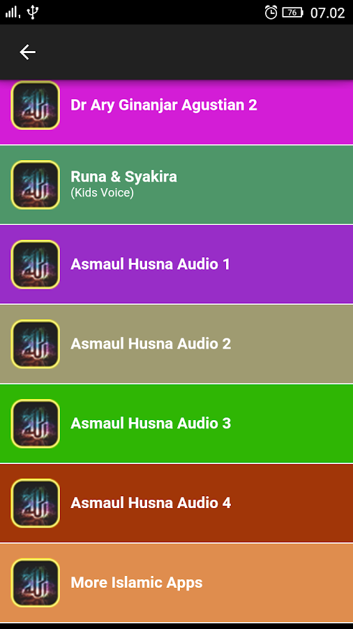 99 Names of Allah Asmaul Husna 2 0 APK Download - Android Education Apps