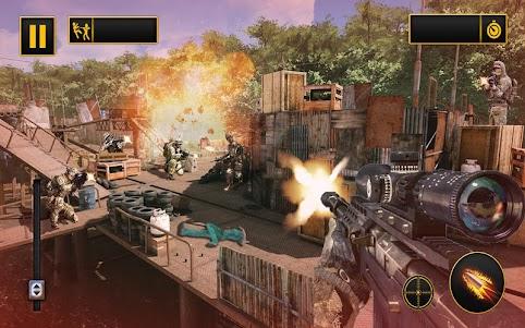 Modern Action Commando Fps : Mountain Sniper Shoot 1.0.1 screenshot 3