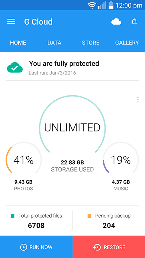 G Cloud Backup APK Download - Android Productivity Apps