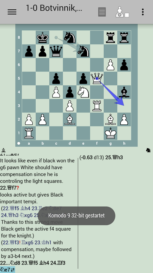 Komodo 9 Chess Engine 1 5 APK Download - Android Board Games