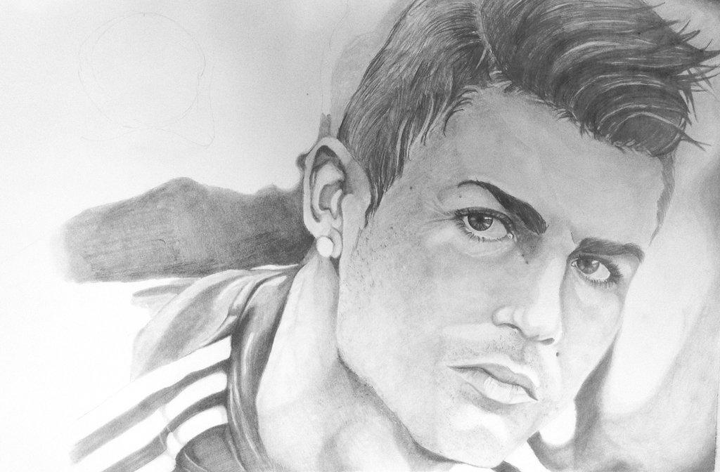 Draw sketch ronaldo easy 2015 1 0 screenshot 2