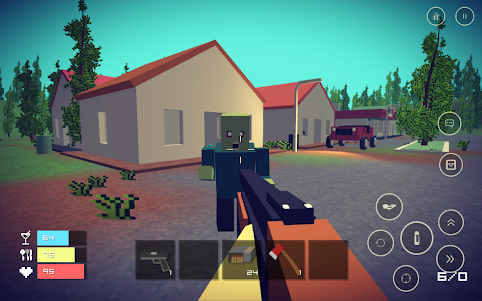 Pixel Day - Unturned Z 1.03 screenshot 14