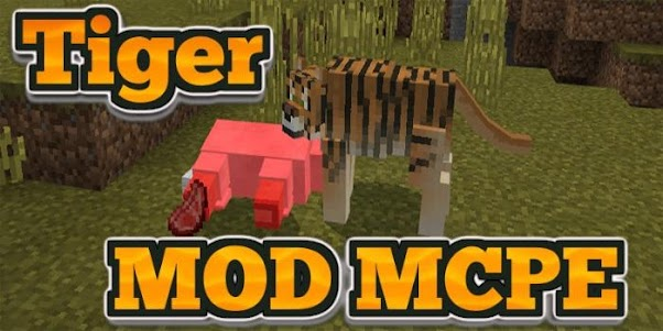 Tiger MOD MCPE 4.0 screenshot 2