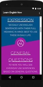 English Daily Conversation & Daily use sentences 1.5 screenshot 12