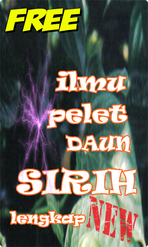 Ilmu Pelet Daun Sirih 2 4 APK Download - Android Books & Reference Apps